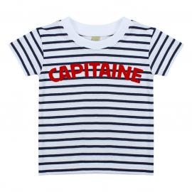 T-shirt Marinière Capitaine