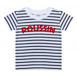 T-shirt Marinière Poussin