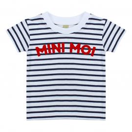 T-shirt Marinière Mini Moi
