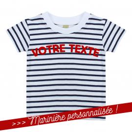 T-shirt Marinière personnalisé