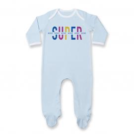 Pyjama bébé Super Bébé