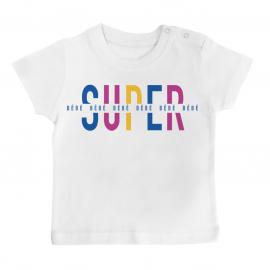 T-shirt bébé Super Bébé