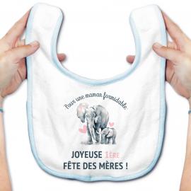 Bavoir bébé Joyeuse fête des mères