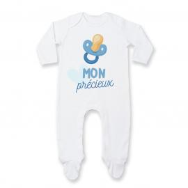 Pyjama bébé Mon précieux ( garçon )