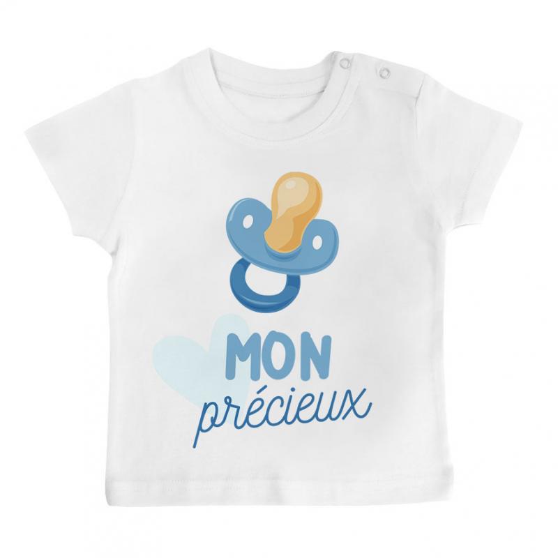 T-shirt bébé Mon précieux ( garçon )