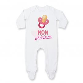 Pyjama bébé Mon précieux ( fille )