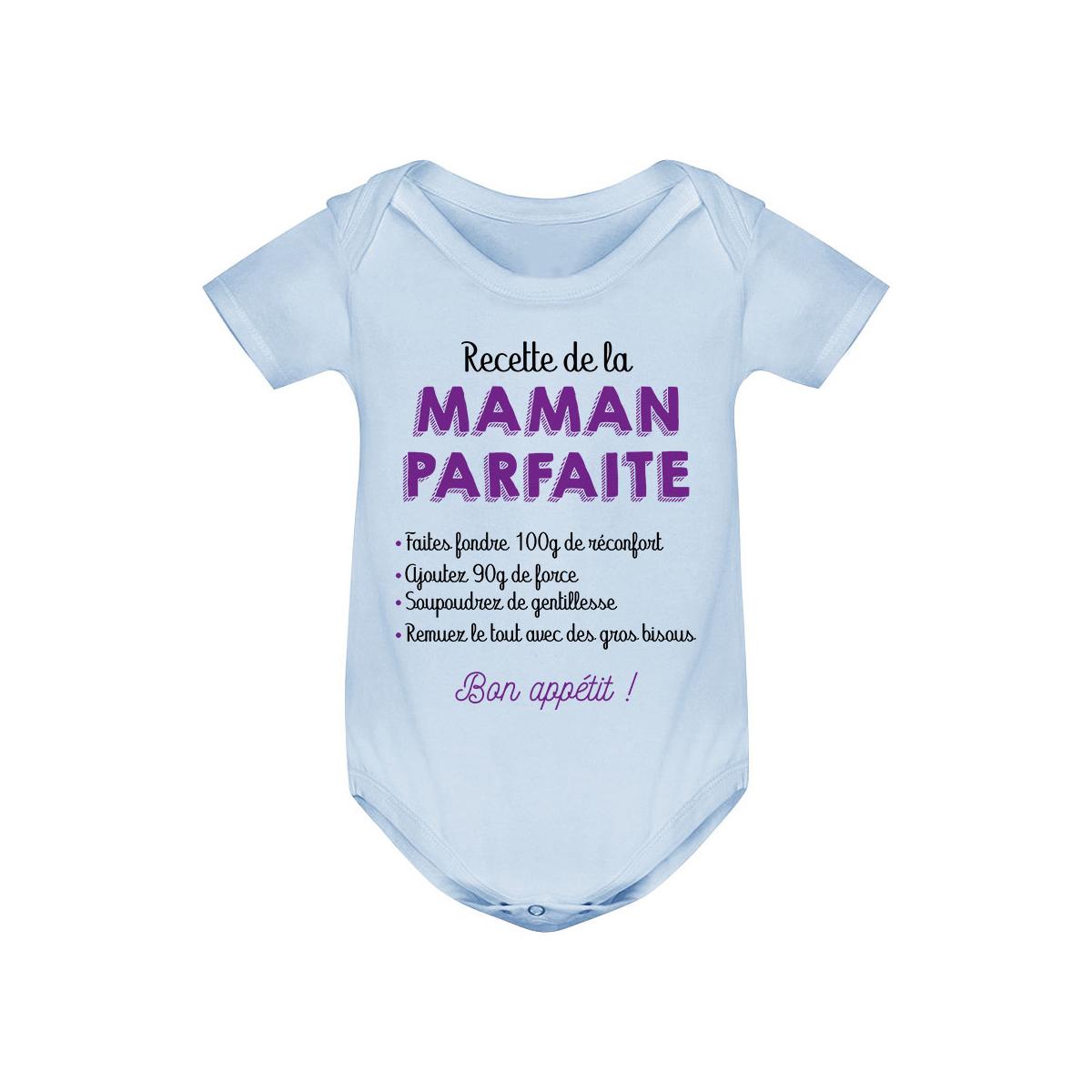 Body bébé Recette de la maman parfaite
