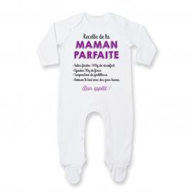 Pyjama bébé Recette de la maman parfaite