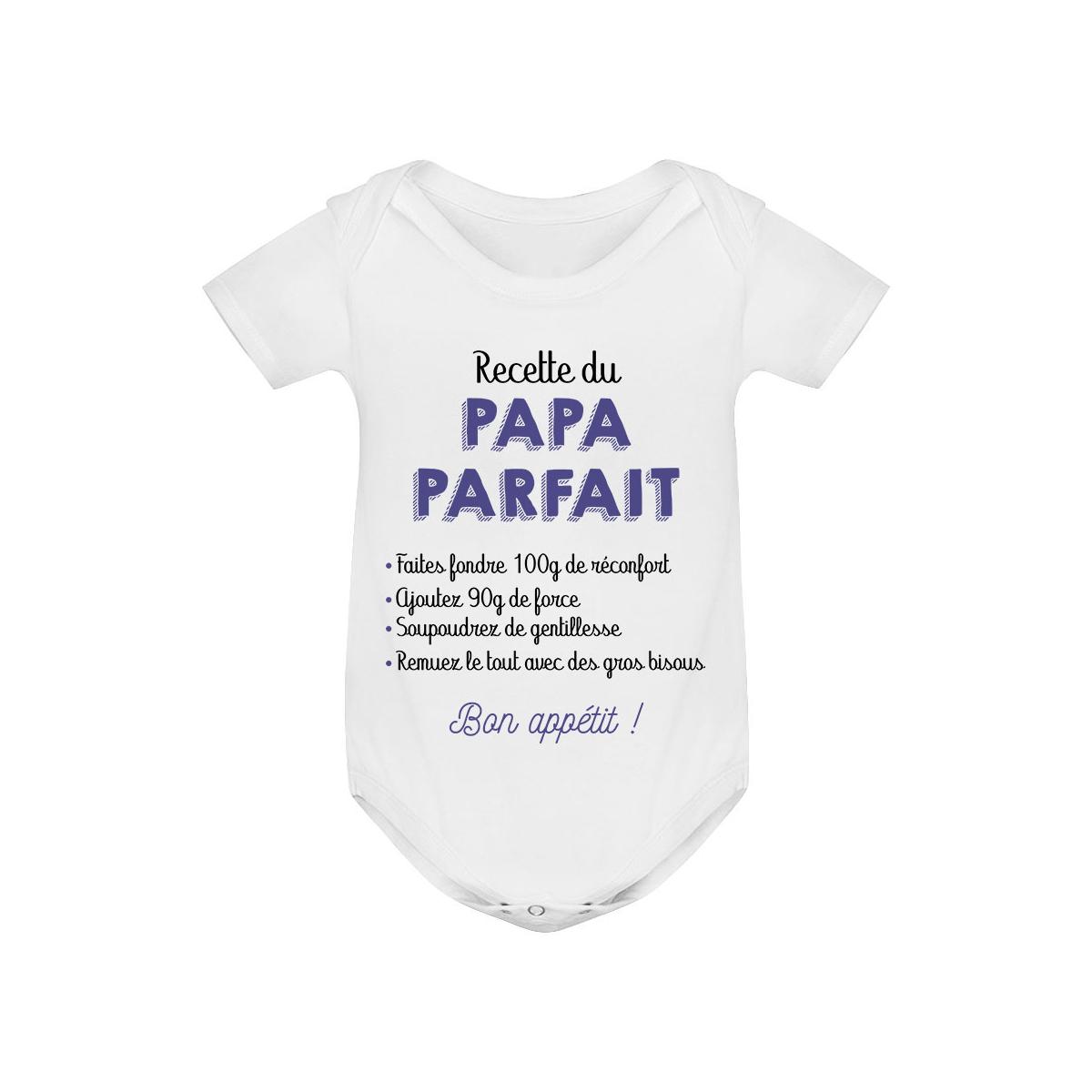 Body bébé Recette du papa parfait