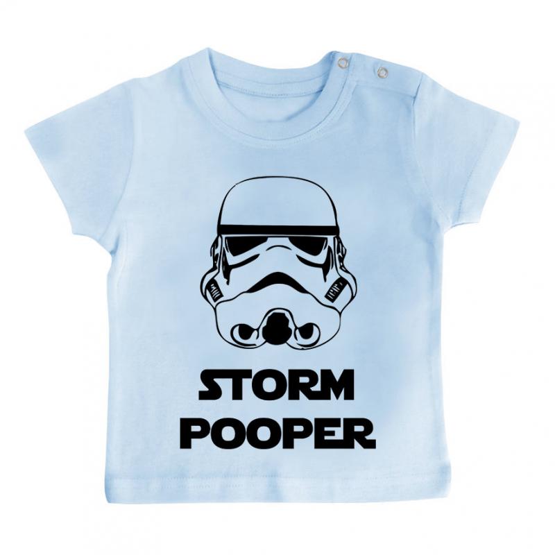 T-shirt bébé Stormpooper