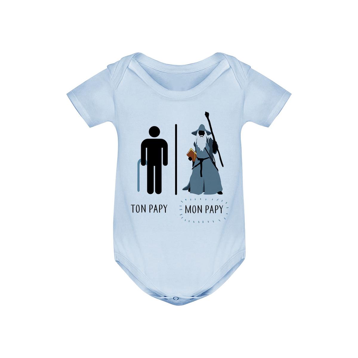 Body bébé Ton papy - Mon papy