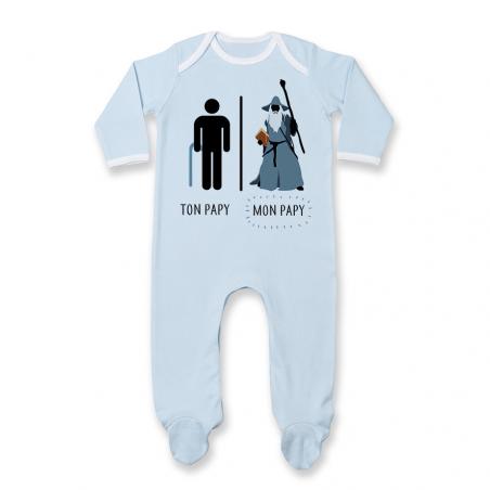 Pyjama bébé Ton papy - Mon papy