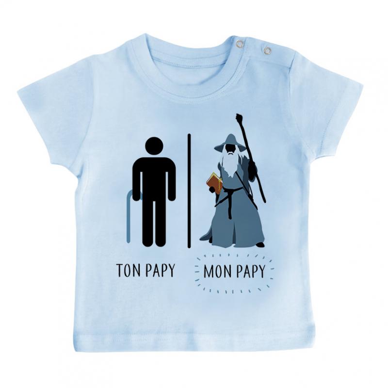 T-shirt bébé Ton papy - Mon papy