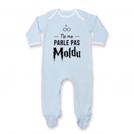 Pyjama bébé Ne me parle pas...