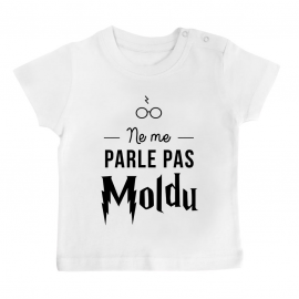 T-shirt bébé Ne me parle...