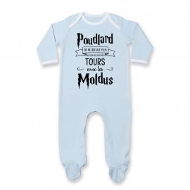 Pyjama bébé Je suis né à...