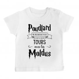 T-shirt bébé Je suis né à...