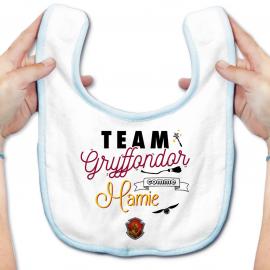 Bavoir bébé Team Gryffondor...