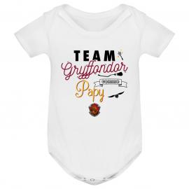 Body bébé Team Gryffondor...