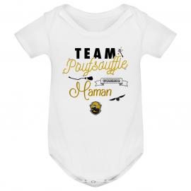 Body bébé Team Poufsouffle...