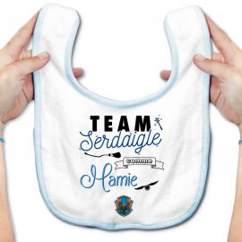 Bavoir bébé Team Serdaigle...