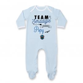 Pyjama bébé Team Serdaigle...