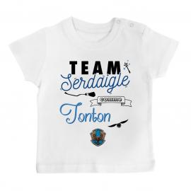 T-shirt bébé Team Serdaigle...
