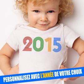T-shirt bébé Année de...