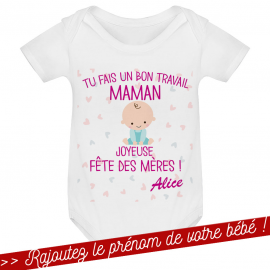 T-shirt bébé Joyeuse fête...