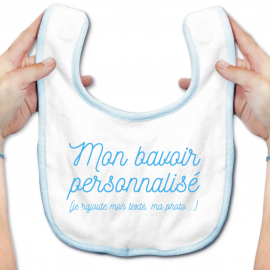 Bavoir bébé 100% personnalisé