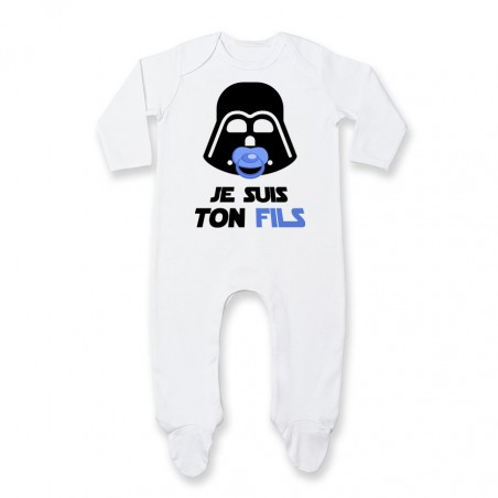 Pyjama bébé Je suis ton fils