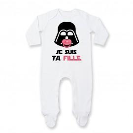 Pyjama bébé Je suis ta fille