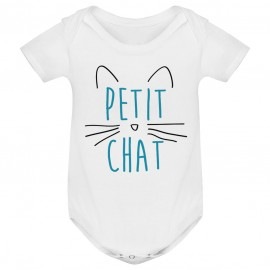 Body bébé Petit chat