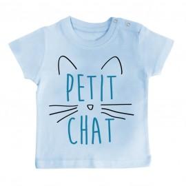 T-Shirt bébé Petit chat