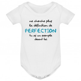 Body bébé La définition de PERFECTION ( version garçon )